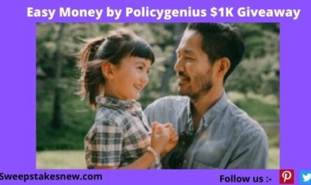 Easy Money by Policygenius $1K Giveaway