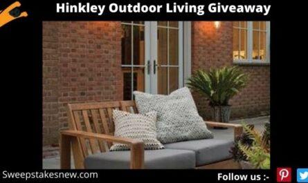 Hinkley Outdoor Living Giveaway