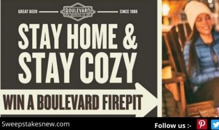 Stay Home And Stay Cozy Firepit Sweepstakes