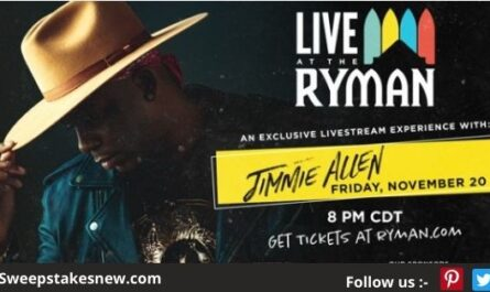 The Big 98 At Work Perks: Jimmie Allen Online Sweepstakes