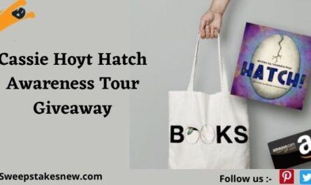 Cassie Hoyt Hatch Awareness Tour Giveaway