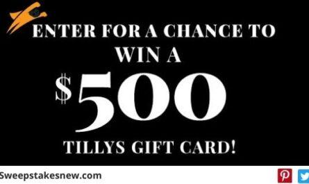 Tillys Giveaway