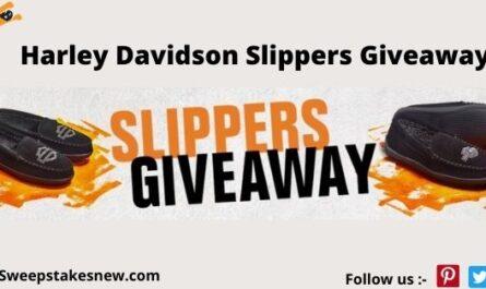 Harley Davidson Slippers Giveaway