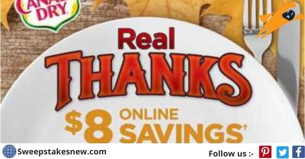 Canada Dry Real Thanks Real Giving Contest