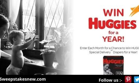 Win Free Huggies Diapers for a Year Sweepstakes