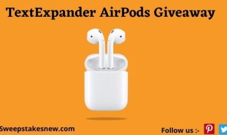TextExpander AirPods Giveaway