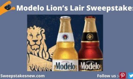 Modelo Lion's Lair Sweepstakes