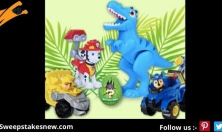 Nick Jr. PAW Patrol Dino Rescue Sweepstakes