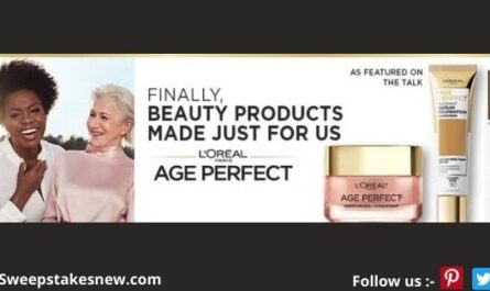 LOreal Paris Age Perfect Beauty Box Sweepstakes