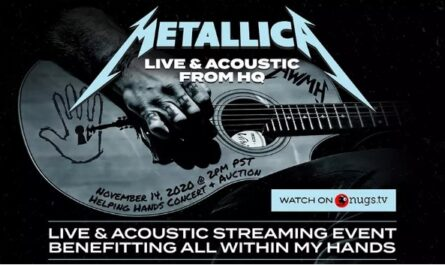 Metallica All Within My Hands Helping Hands Concert And Auction Contest