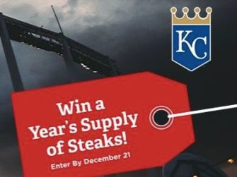Kansa City Royals Home for the Holidays Sweepsteaks