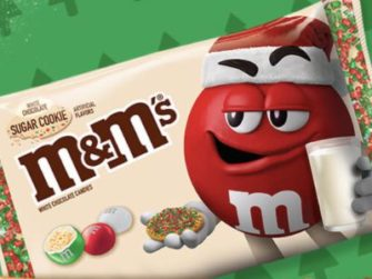 M&M'S Sugar Cookie Holiday Wishes Sweepstakes