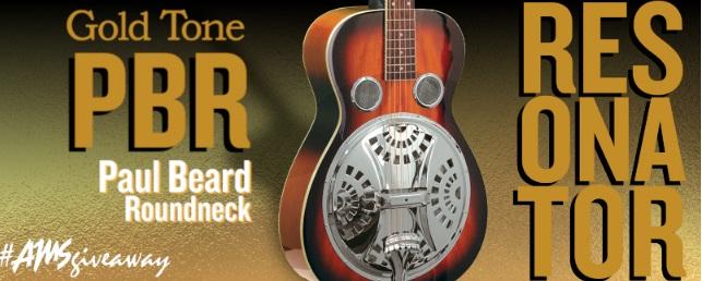Gold Tone PBR Resonator Giveaway