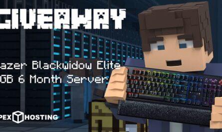 Apex Hosting Server, Elite Gaming Keyboard Giveaway