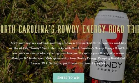 North Carolina Rowdy Energy Road Trip Sweepstakes