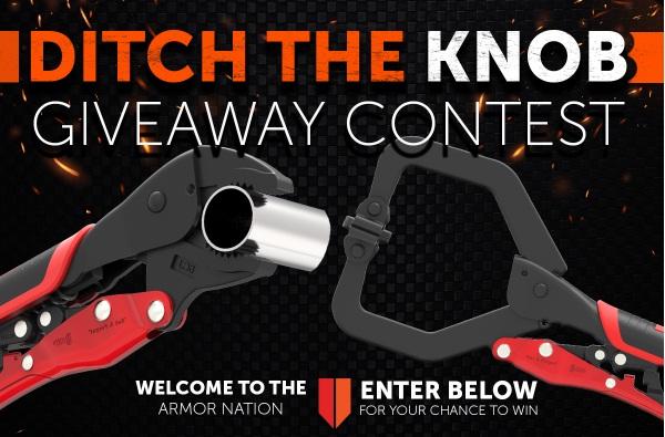 Armor Tool DITCH THE KNOB Clamp Contest