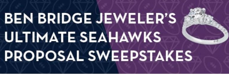 Ben Bridge Jeweler Ultimate Seahawks Proposal Sweepstakes