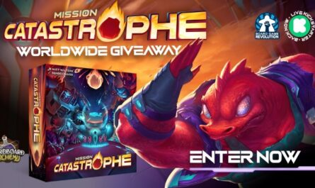 Mission Catastrophe Worldwide Giveaway