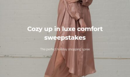 DANIELLA SHEVEL Cozy Up In Luxe Comfort Sweepstakes