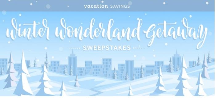 Winter Wonderland Getaway Sweepstakes
