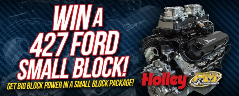Holley 2020 Ford Engine Giveaway