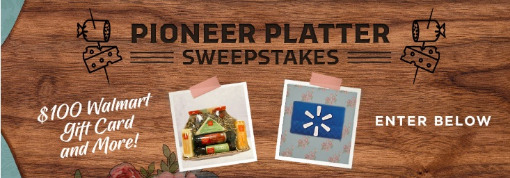 INSP The Thanksgiving Pioneer Platter Sweepstakes