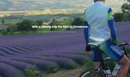 Indus Biking Trip For Two In Provence Giveaway