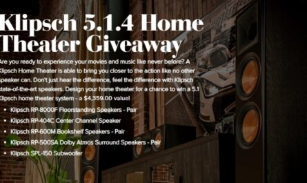 Klipsch 5.1.4 Home Theater Giveaway