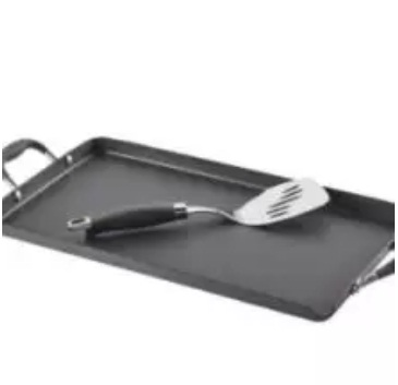 Anolon Non-Stick Griddle With Pour Spout And Mini Turner Giveaway