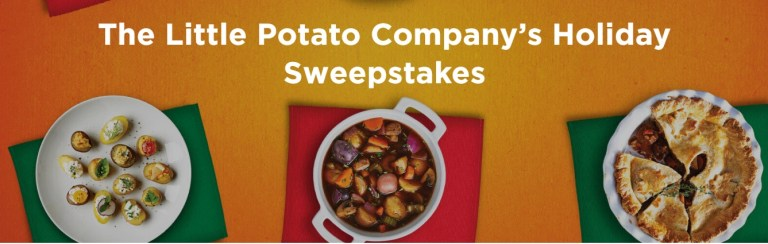 Little Potato Holiday Blend Sweepstakes