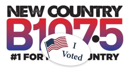New Country B107.5 Show Your I Voted Pride Sweepstakes