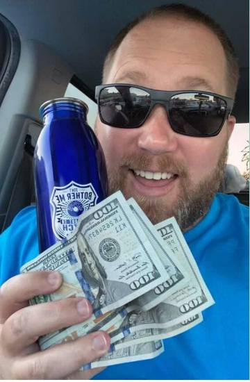 Officer Daniels Cash Giveaway