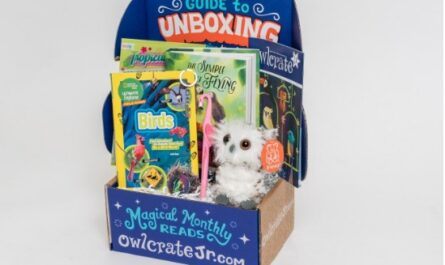 OwlCrate Jr Book Subscription Box Giveaway