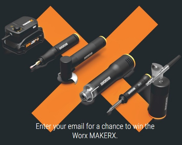 Worx MakerX Creative Tools Giveaway