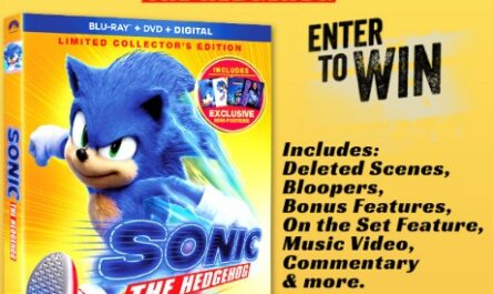 Sonic The Hedgehog Collectors Edition Blu-ray Contest