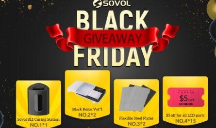 Sovol Black Friday Giveaway
