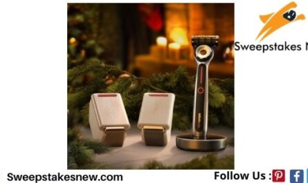 Gillette Warm Up the Holidays Sweepstakes