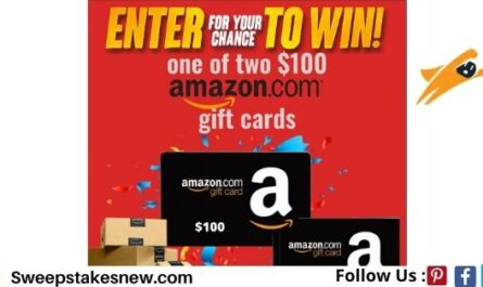 Showtimes.com Amazon $100 Gift Card Sweepstakes