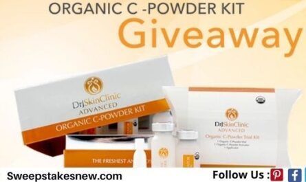 Organic C-Powder Kit Giveaway