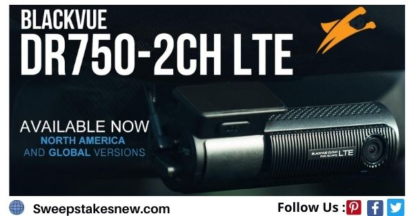 Blackvue DR750-2CH LTE Dashcam Giveaway