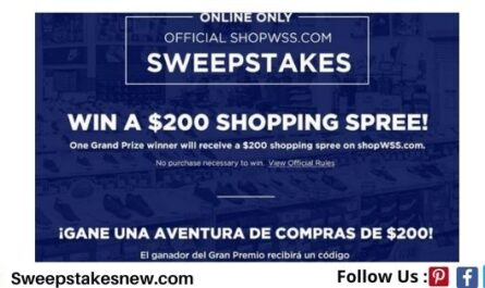 ShopWSS.com Shopping Spree Giveaway