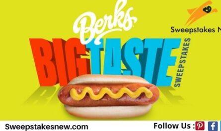 The Berks Big Taste $500 Sweepstakes