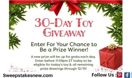 Red Tricycle 30 Day Toy Giveaway Sweepstakes
