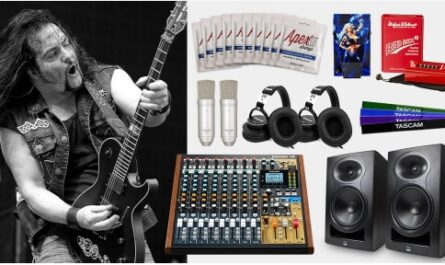 TASCAM Model 12 Mixer And Tommy Bolan Bundle Giveaway