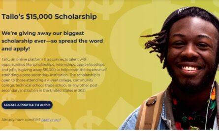 Tallo $15,000 Scholarship Giveaway