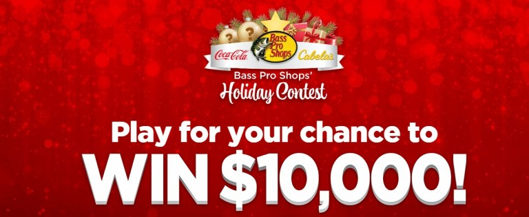 The Coca-Cola Bass Pro Shops Holiday Contest