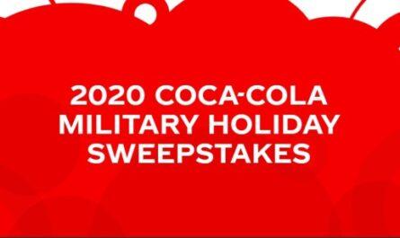Coca-Cola Military Holiday Sweepstakes