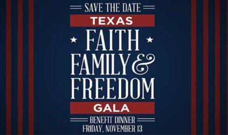 The Faith, Family Freedom Gala Sweepstakes