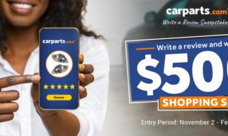 CarParts.com Write-a-Review Sweepstakes