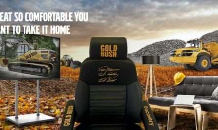 Volvo Construction Equipment November Gold Rush Chair Giveaway